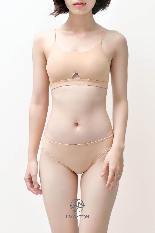 LMcation Jane Bikini Bottoms - Nude