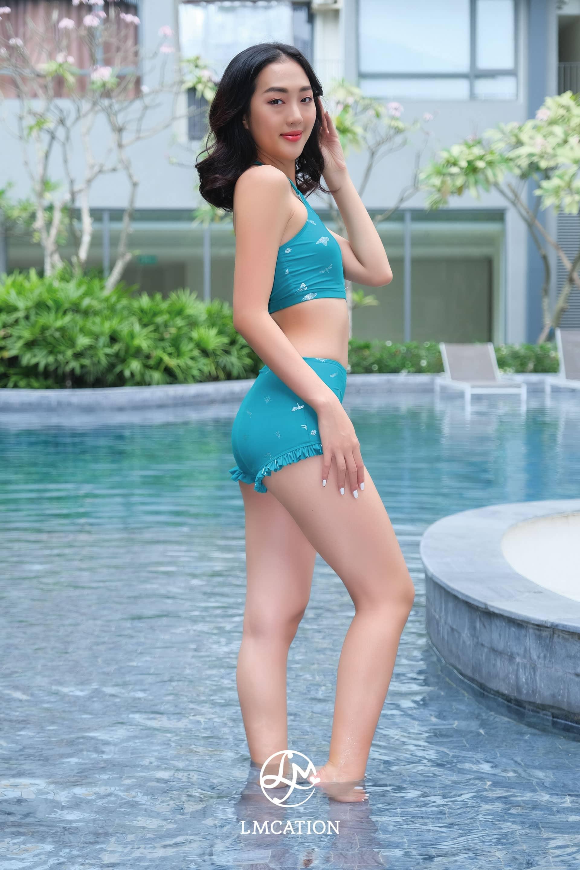 Bikini Combo - LMcation Lola Bikini Top &  Estella Swim Shorts - Twinkling Butterfly