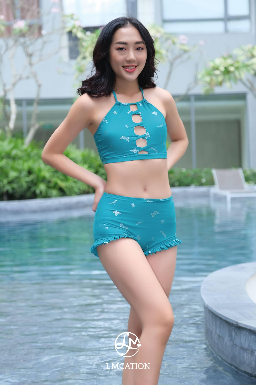 LMcation Estella Swim Shorts - Twinkling Butterfly