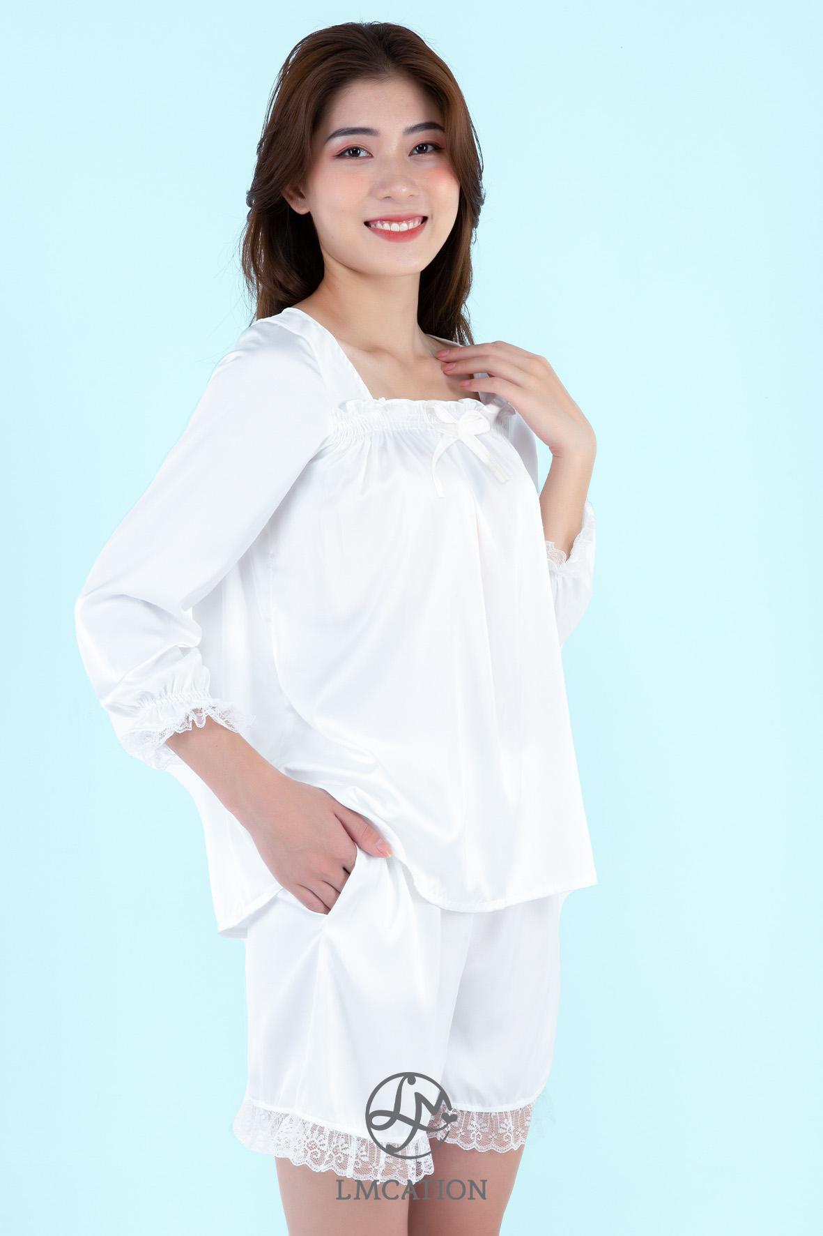 LMcation Queen Set - Blanc