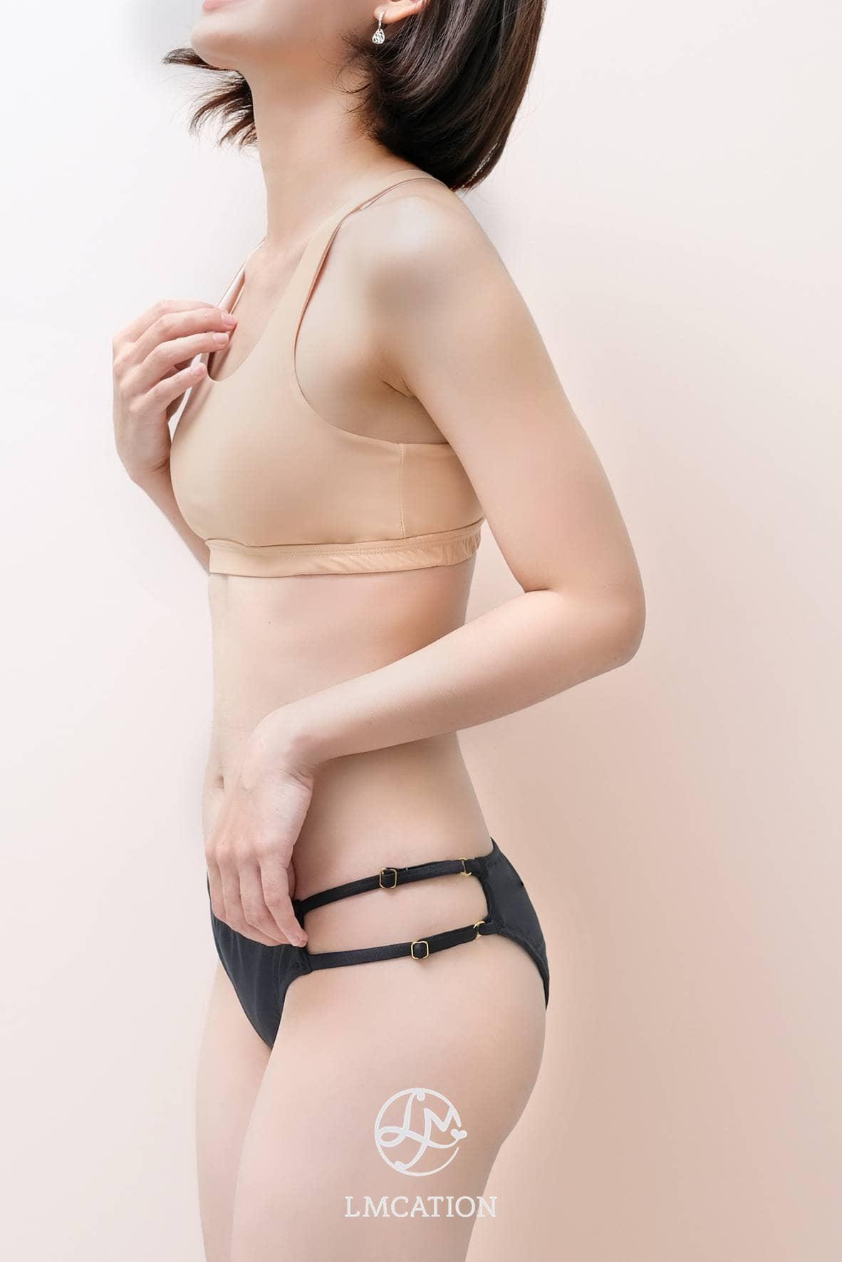 LMcation Olivia Bikini Bottoms - Noir
