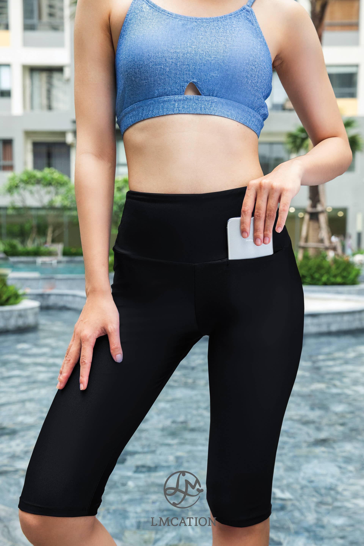 LMcation Rita Biker Shorts - Noir