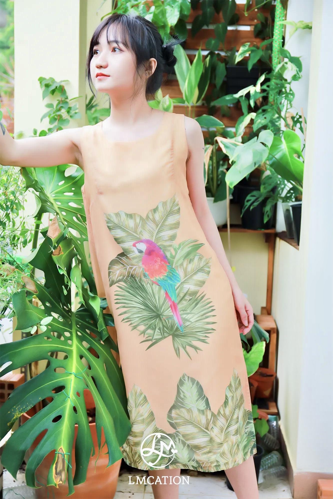 LMcation Alice Dress - Tropical Parrot